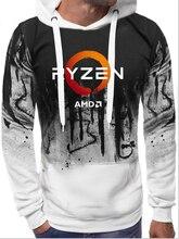 CPU AMD RYZEN hoodies geek programmierer Computer ZEN Peripheriegeräte geek 2020