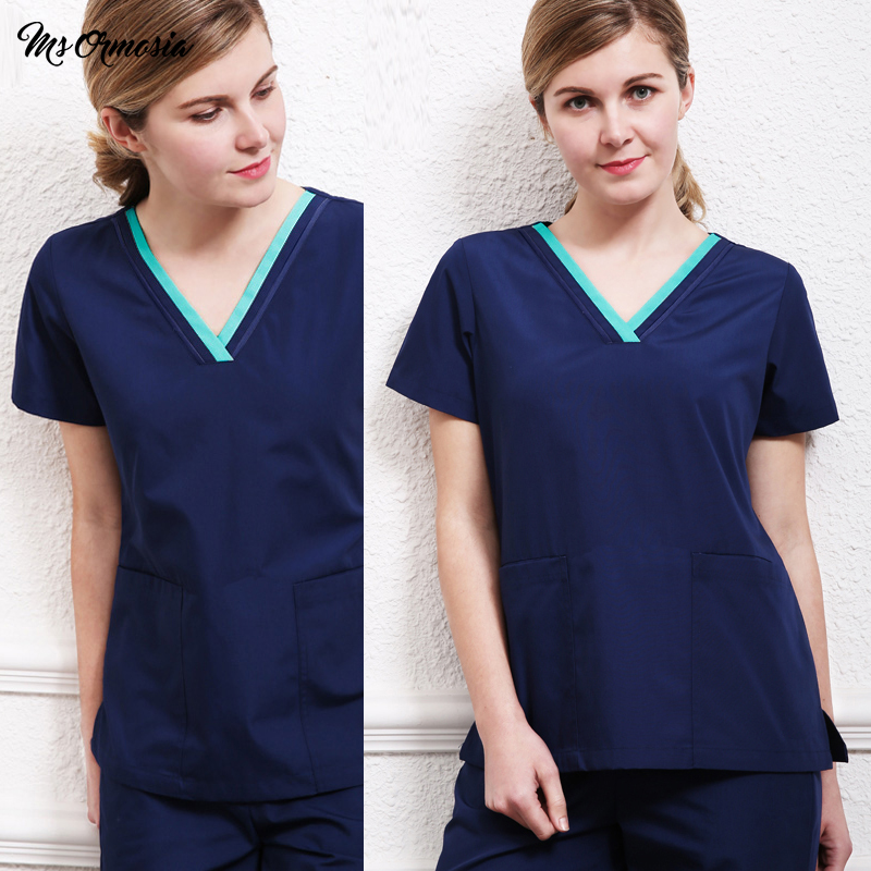 Quality Fashion Medical Suit Lab Coat Women Hospital Scrub Uniforms Set Design Slim Fit Breathable Medical Uniform Wholesale