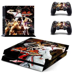 Image 5 - Game Tekken 7 PS4 Stickers Play station 4 Skin Sticker Decals For PlayStation 4 PS4 Console and Controller Skins Vinyl