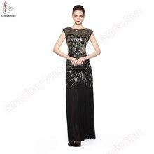 Женские длинные платья элегантное винтажное платье в стиле арт