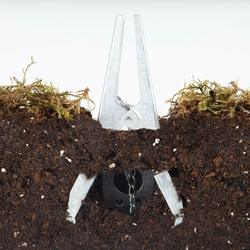Многофункциональная мощная многоразовая ножничная ловушка для Кротов, садовая оцинкованная простая настройка, прочное управление