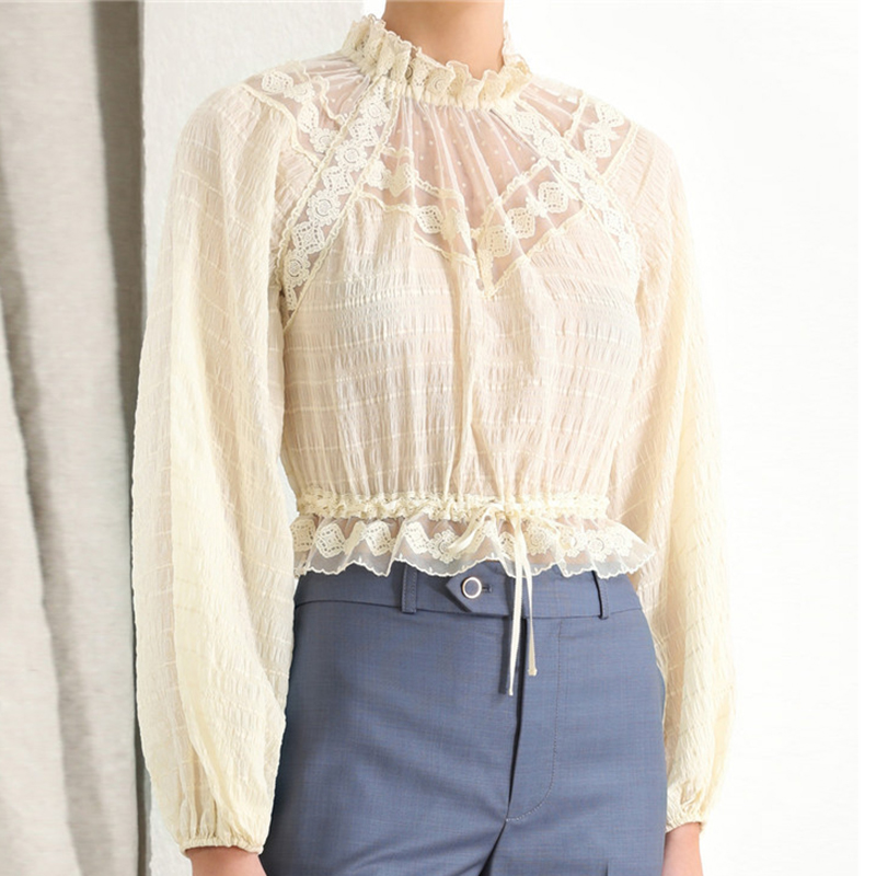 Lace discount Sleeve Fashion