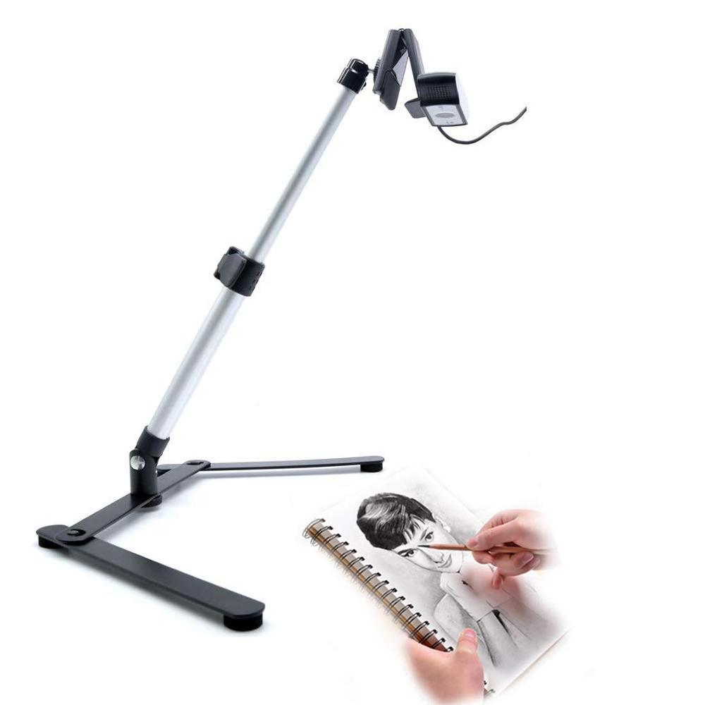 Evanto Camera Table Top Monopod Stand Tripod Support Rig With Overhead Phone Mount For YouTube Tutorials, Cake And Cookies Decor