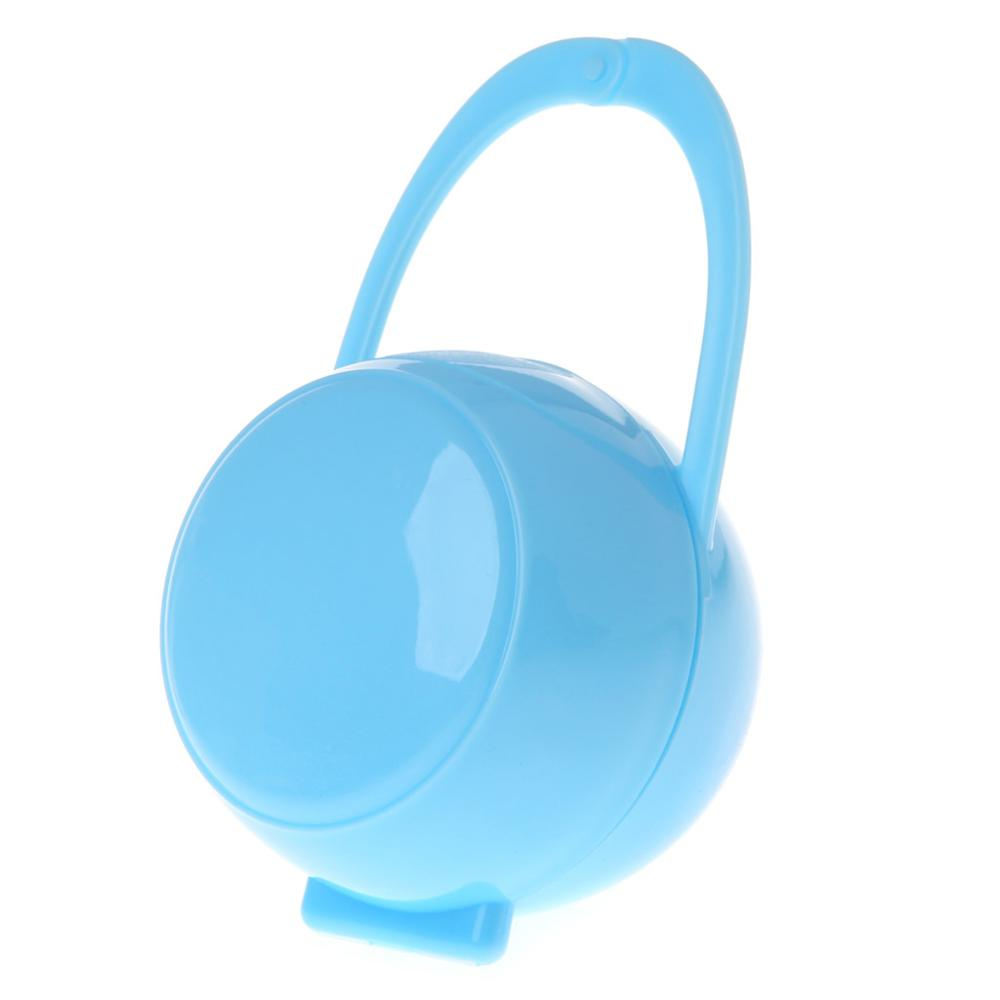 Portable Unisex Baby Boy Girl Infant Pacifier Nipple Cradle Case Holder Box