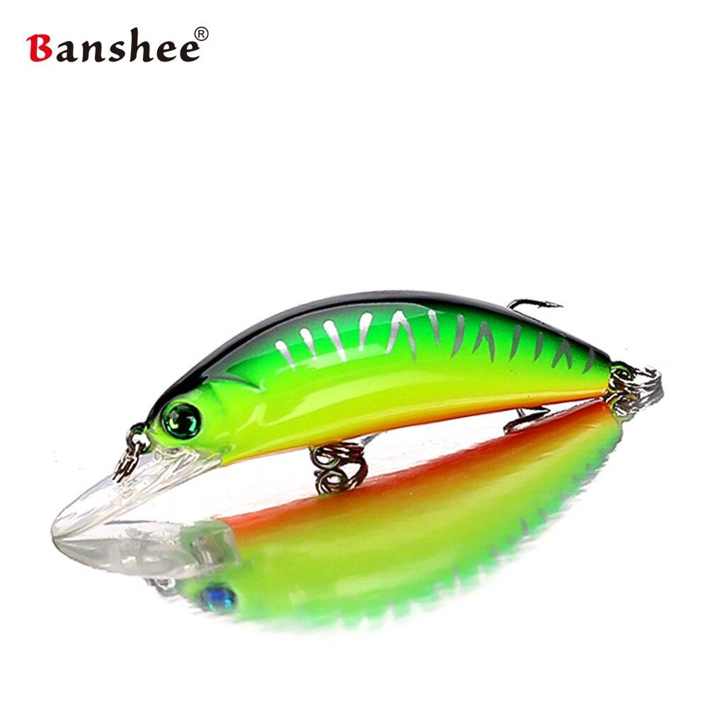 2.5/'/' Minnow Fishing Lures Wobbler Crankbait Bass Tackle Rattles 6.5cm 4g New