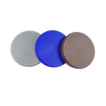 6pcs Dental Lab Consumables CAD CAM Wax Disc for Teeth Dentures 98*25mm