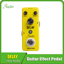 купить Rowin Analog Vintage Delay Guitar Effect Pedal онлайн