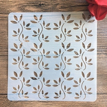 20 *20 cm  DIY Branches craft mandala mold for painting stencils stamped photo album embossed paper card on wood, fabric, wall