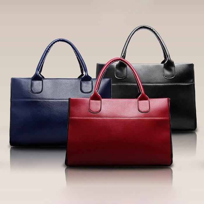 Genuine Leather Women Handbag Fashion Satchel Female Shoulder Bag Top-Handle Bags For Women 2019 Large Capacity Tote Bag 30