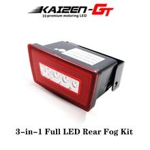 3 in 1 Full LED Rear Fog Light Kit For Subaru Impreza WRX/STI or XV Crosstrek,Function as Tail/Brake Lamp,Backup Reverse Light