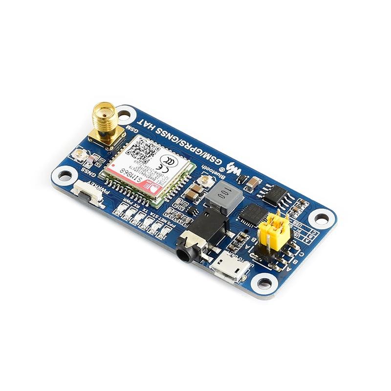 Raspberry Pi 4B SIM868 Development Board GSM GPRS GNSS Bluetooth Phone / SMS Module
