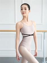 Dziewczyny trykot baletowy baleriny Party bez rękawów taniec gimnastyka kombinezon balet kostiumy Turnpakje body dla Tutu Dancerwear