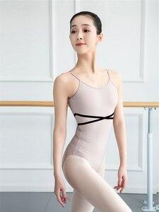 Image 1 - Girls Ballet Leotard Ballerina Party Sleeveless Dance Gymnastics Jumpsuit Ballet Costumes Turnpakje Bodysuit for Tutu Dancerwear