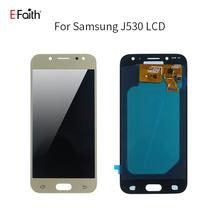 Efaith 1 sztuk 5 2 calowy wyświetlacz LCD Samsung Galaxy J530 wyświetlacz LCD do Samsung Galaxy J5 2017 J530 SM-J530F wyświetlacz LCD bezpłatne DHL tanie tanio E-FAITH NONE CN (pochodzenie) Pojemnościowy ekran 1920x1080 3 OLED For Samsung J530 LCD i ekran dotykowy Digitizer black white pink gold