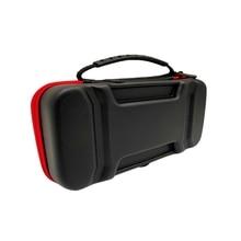 Estuche de transporte de viaje portátil con 10 cartuchos de juego y soporte para consola Nintendo Switch y accesorios