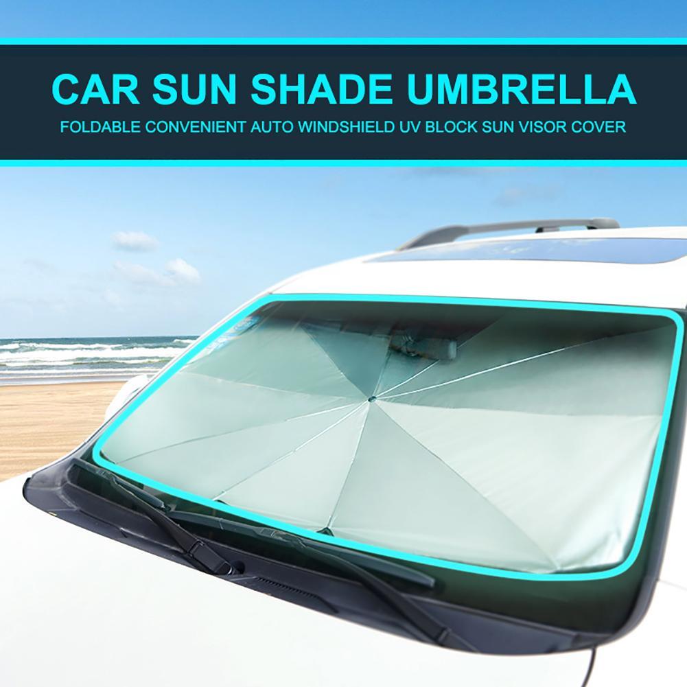 Foldable Car Windshield Sunshade Front Window Cover Visor Sun Shade Umbrella