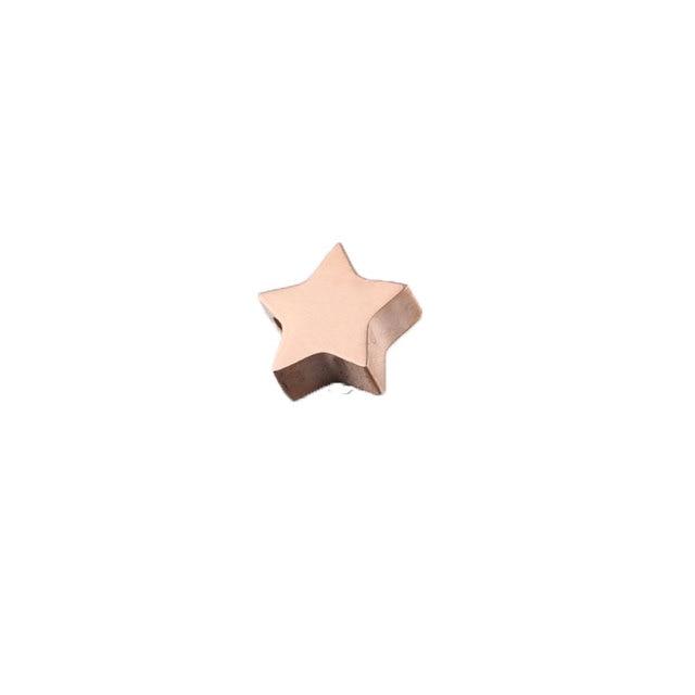 Купить бусины подвески в виде звезд с пентаграммой 20 шт/лот 77*8 мм