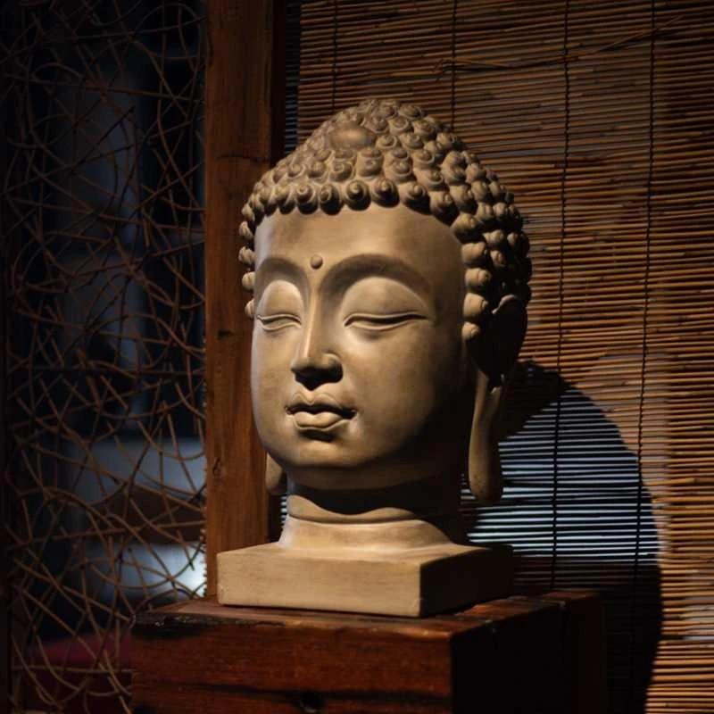 Figura De Buda Grande De 48cm Talismán De Protección Eficaz Para La Familia Estatua Retro De Buda Feng Shui Budista Venta Al Por Mayor Statue Statues Buddhastatue Figure Aliexpress