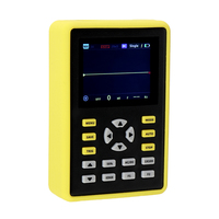 5012H 디지털 오실로스코프 휴대용 핸드 헬드 IPS 2.4 인치 LCD 디스플레이 100MHz 아날로그 대역폭 500 메터/초 샘플링 속도 오실로스코프
