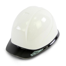 Construction Safety Helmet Hard-Hat Damping Brim Climbing with Clear 6-Point-Suspension