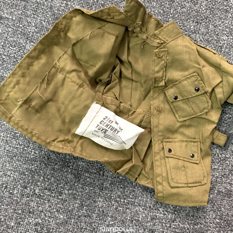 """1:6 Figure Accessory Clothes WWII US Army Jacket Model For 12/"""" Male Figure Doll"""