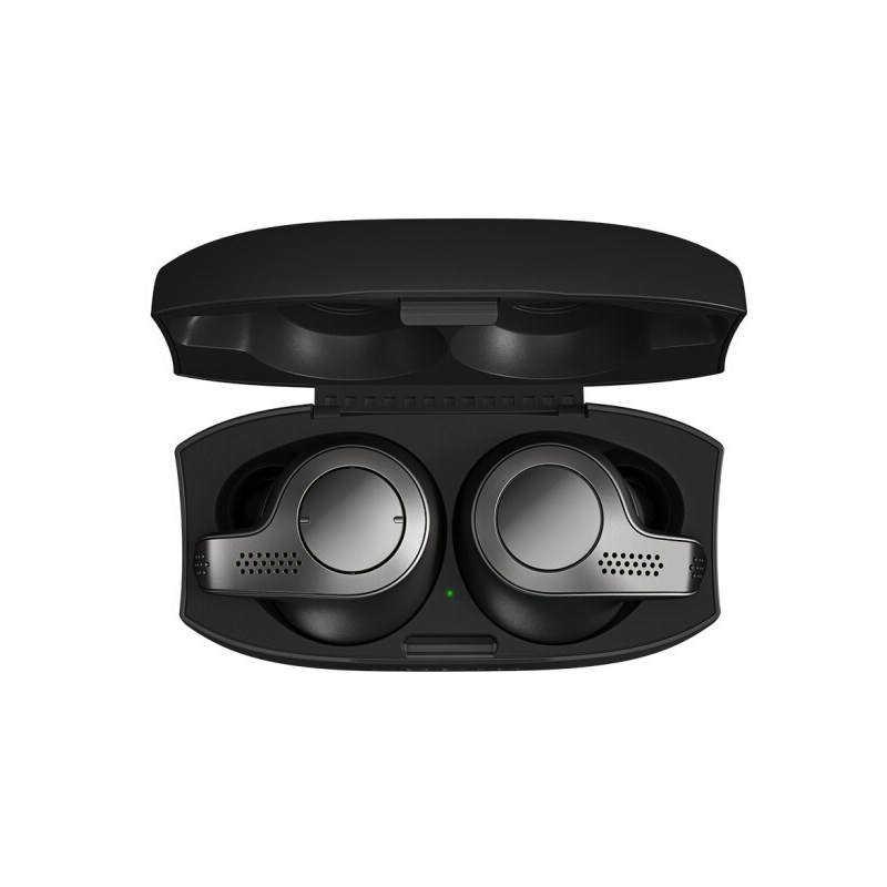 ワイヤレス Bluetooth ヘッドセットマイクと充電キャリングケース jabra/Z huawei iphone エリート 65T XIAOMI