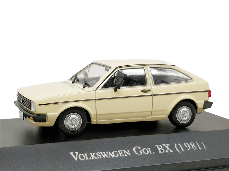 1:43 IXO Models VW Gol BX 1981 Diecast Model Car