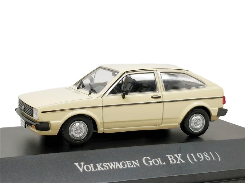 1:43 IXO Models VW Gol BX 1981 Diecast Model Car