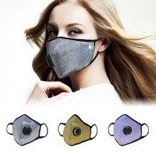 GLORSUN моющаяся n99 анти pm2.5 запах пыли для лица Спортивная маска воздушный фильтр n95 рот Мода на заказ дыхательная летняя карбоновая смоговая маска