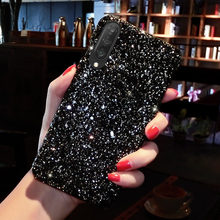 Glitter Case Telepon untuk Samsung Galaxy S10 Lite Catatan 10 S20 S9 Plus S8 S10E Catatan 9 A10 A20 A30S a50 A70 A51 A71 Hard Cover Case(China)