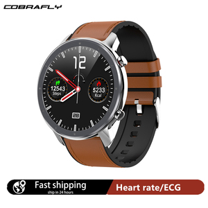 Image 1 - Cobrafly 2020 L11 ساعة ذكية الرجال 1.3 بوصة كامل شاشة تعمل باللمس IP68 مقاوم للماء مراقب معدل ضربات القلب اللياقة البدنية Smartwatch PK DT78 L9 L8