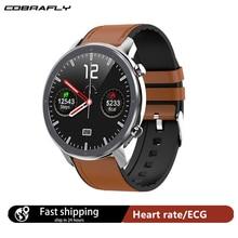 Cobrafly 2020 L11 inteligentny zegarek mężczyźni 1.3 Cal w pełni dotykowy ekran IP68 wodoodporny pulsometr Fitness Smartwatch PK DT78 L9 L8