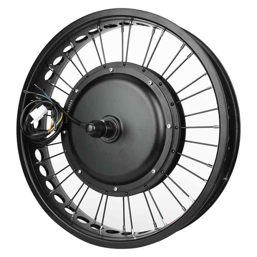 48V 1000W ไฟฟ้าจักรยานมอเตอร์เครื่องยนต์ชุด 20x4 ใน HUB มอเตอร์ล้อด้านหลังด้านหน้า 135/170 มม.Flywheel ชุดควบคุม