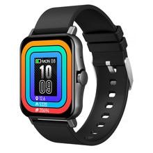 Hollvada VS T98 T68 умные часы 1,69 дюймов полный сенсорный Фитнес трекер IP67 Водонепроницаемый вызовов через Bluetooth Smartwatch PK GTS 2 P8 Y20
