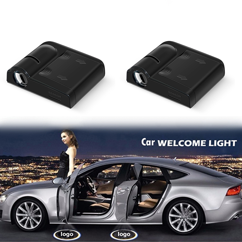 1PCS Universal Wireless Led Car Door Welcome Laser Projector Logo Ghost Shadow Light Car Styling Courtesy Lights Car Accessories