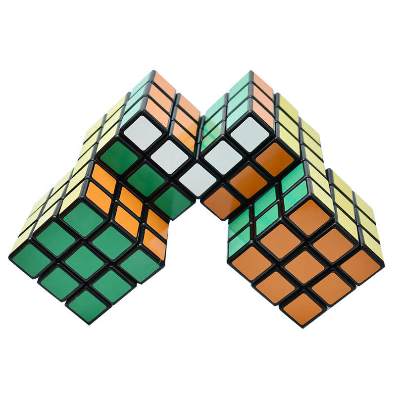 結ばスピードマジックキューブ奇妙な形状 2 3 4 5 シャムパズルストレス緩和剤cubos子供の教育AA50MF