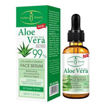 Gel Natural de Aloe Vera, suero de ácido hialurónico puro, Reparación DE...