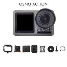 DJI Osmo 액션 스포츠 카메라 듀얼 스크린 및 RockSteady 안정화 방수 8xSlow 모션 원래 재고 있음