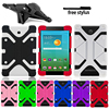 Tablets Case for Alcatel 1T /3T /A3 / Plus 10 Tablet Universal Silicone Case Shockproof Protection Case + Free Stylus