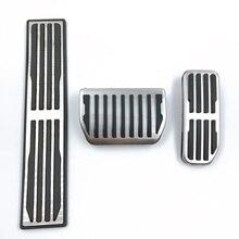 3ชิ้น/เซ็ตAcceleratorเหยียบเท้าภายในดัดแปลงสแตนเลสสำหรับJaguar XFL FTYPE XJ XF XE FPACE Auto Parts