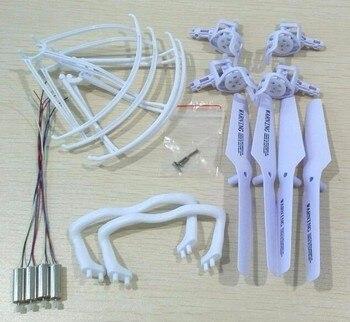 Drone Syma X5 X5C X5C-1 m68 piezas de repuesto de cuadricóptero accidente paquete Kit de reemplazo de 720 motores fama cubierta accesorios patines de aterrizaje guardia