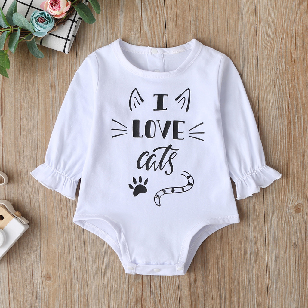 Suns Out Guns Out Newborn Baby Boy Girl Romper Jumpsuit Long Sleeve Bodysuit Overalls Outfits Clothes