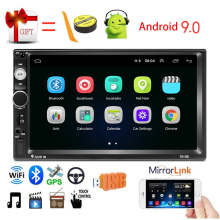 2 Din Android 9,0 Car radio 7 \
