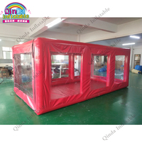 China supplier inflatable hail proof car cover shelter,customized inflatable car capsule for parking