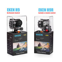 Спортивная камера EKEN H9R/H9, фирменная видеокамера для экстремальной съемки Ultra HD, 4К, экран 2 дюйма, 1080p, водонепроницаемость 30 м, новое поступле... 2