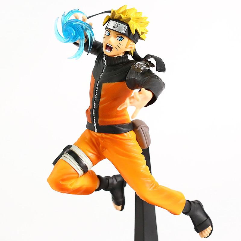 Naruto Shippuden Vibration Stars Uzumaki Naruto Rasengan Ver. PVC Figure Collectible Model Toy