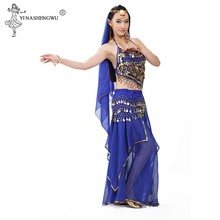 Belly Dancing Costume Sets Egyption Egypt Belly Dance Costume Bollywood Costume Indian Dress Bellydance Dress For Women(China)