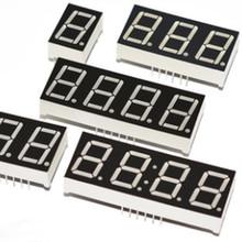 0,56 дюймовый светодиодный дисплей 7 сегментный 1 бит/2 бит/3 Бит/4 бит цифра трубка Красный общий катод/анод цифровой 0,56 дюйма светодиодный 7-сегментный