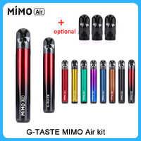 Vape kit G-geschmack MIMO Air Pod Kit gebaut-in batterie 450mah mit 1,3 ml Schoten kapazität 1.4/1,8 ohm pod vape vs minifit vape/E8/Kubi