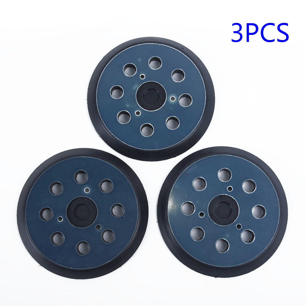 Tool Sanding Pads Hook & Loop 8 Holes 5